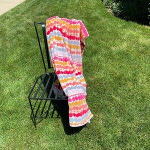 Vera Bradley XL Pixie Blooms Plush Throw Blanket